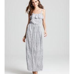 BCBGeneration Women's Maxi Flounce Dress